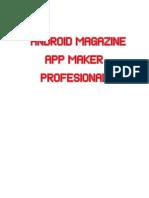 Tutorial Android Magazine App Maker Profesional