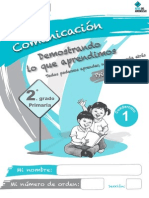 Cuadernillo1 Comunicacion 1er Trimestre 2do Grado