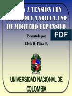 1. Union Con Mortero y Varillas, E. Flores