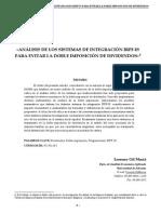 Analisis De Los Sistemas De Integracion