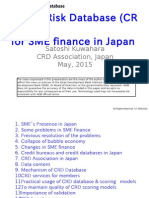 Credit Risk Database (CRD) for SME Finance in Japan