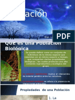 Poblaciones en Ecología