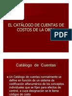 05a Catálogo de Cuentas