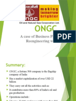 Business Process Re-engineering at ONGC