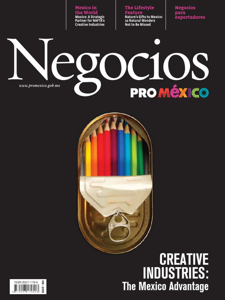 promexico creative industry   Mexico   Economic Growth