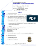Crime Reduction in Phillips