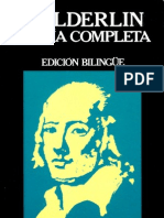 Holderlin Friedrich - Poesia Completa Edicion Bilingue