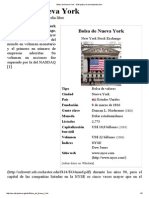 Que es Bolsa de Nueva York