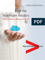 New Era Healthcare Industry Cloud Computing Changes Game