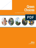 2013 Sc Johnson Sustainability Report