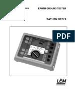 Manual de utilizare Lem Saturngeox
