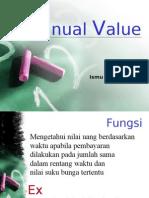 Annual Dan Gradien Value