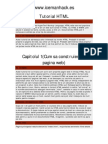 3 Tutorial HTML Romana