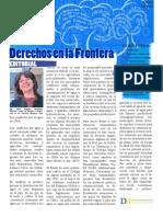 Boletín Derechos en La Frontera