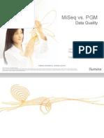 MiSeq vs. Ion Torrent Data Quality