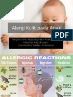 Alergi Kulit Pada Anak