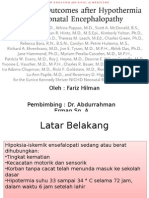Journal Reading - Childhood Outcomes After Hypothermia for Neonatal Encephalopathy (Dr. AE)