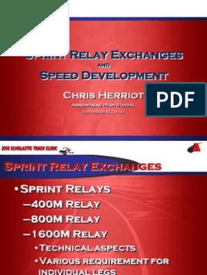 Sprint Training   Endurance   Physical Exercise
