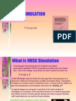 HRSG SIMULATION V.Ganapathy