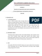 Laporan Pertanggungjawaban Komisi II 2014-2015