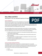 Affirmed Networks WiFi White Paper