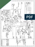 Fractionating column layout