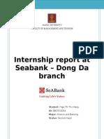 Seabank - Internship Report