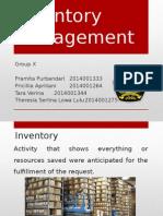 Management Inventory