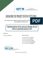 Rapport PFE Optimisation d'Un Réseau Single RAN (3G) Et Planification LTE