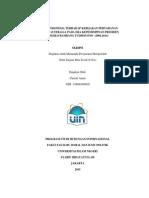 RESPON INDONESIA TERHADAP KEBIJAKAN PERTAHANAN MARITIM AUSTRALIA PADA ERA KEPEMIMPINAN PRESIDEN SOESILO BAMBANG YUDHOYONO (2004-2014)