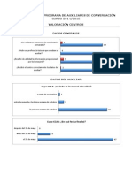 Valoración programa Auxiliares de Conversación. Curso 2014/2016. Informe centros..