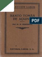 Grabmann Martin Santo Tomas de Aquino Ed Labor PDF