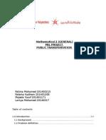 pbl logistics project