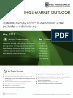 Export Import Scenario Bearings Market India 2019