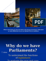 Functions of Parliament in the UK