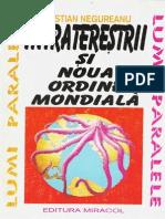 (185 A5) C.negureanu - Intraterestrii Si Noua Ordine Mondiala