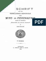 Les trouvailles de monnaies des années 1895 et 1896 / [H.J. de Dompierre de Chaufepié]