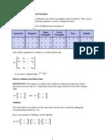 Matrices 120110