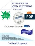 CA Final Advanced Auditing Notes for May 2015