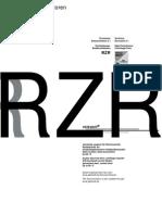 RZR -Katalog 5.1 (Eng-ty)