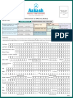 Medical DLP Admission Form