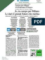 Intervista Il Giorno Milano