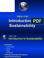Lecture-5 Intro to Sustainability