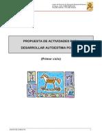 Propuesta de ACTIVIDADES Para Desarrollar La Autoestima Positiva 1. CICLO