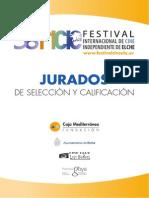 38 Festival Internacional de Cine Independiente de Elche. Dossier Jurados. Fundación Caja Mediterráneo