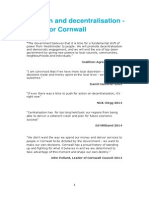 The Case for Cornwall