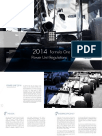 FIA F1 Power Unit Leaflet