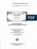 Sfantul Grigorie de Nyssa Scrieri Partea a Doua