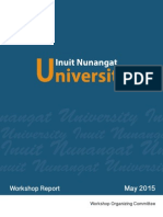 Inuit Nunangat University Workshop Report