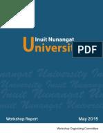 Inuit Nunangat University Workshop Report